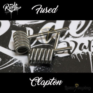 Rude Coils Fused Clapton Rude Vapes