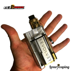 Revolver Mechanical Box Mod By GI Mods Philippines