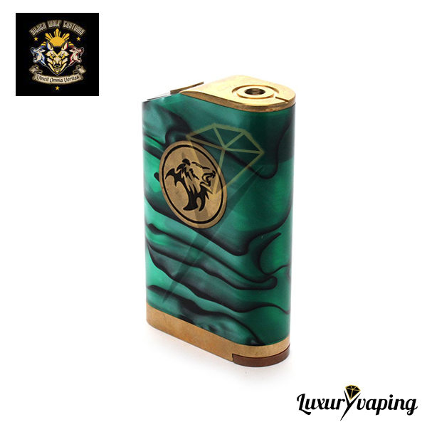 Lethal Mod Triple Parallel Acrylic Silver Wolf Customs