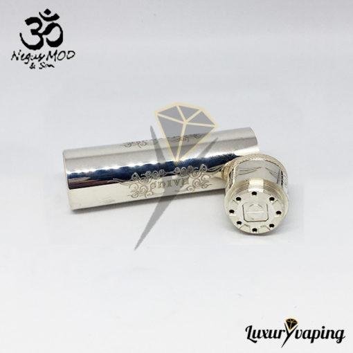 Shiva V2 Mod Negus and Son Full Silver