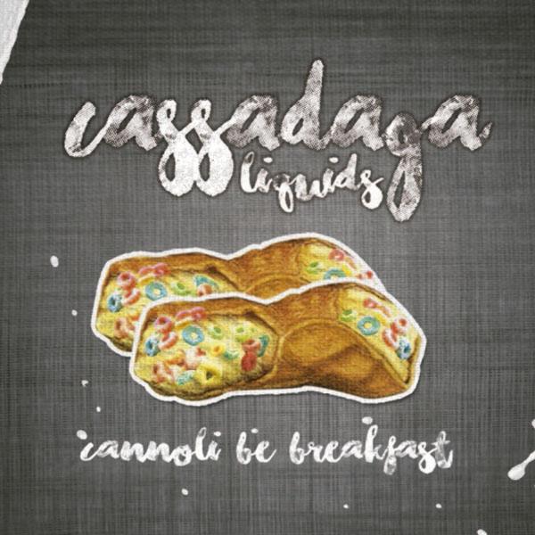 e-Liquido Cassadaga Cannoli Be Breakfast