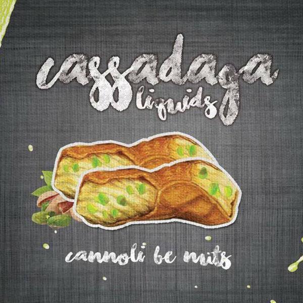 e-Liquido Cassadaga Cannoli Be Nuts