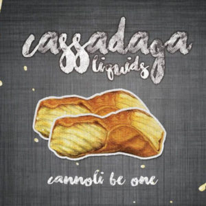 e-Liquido Cassadaga Cannoli Be One