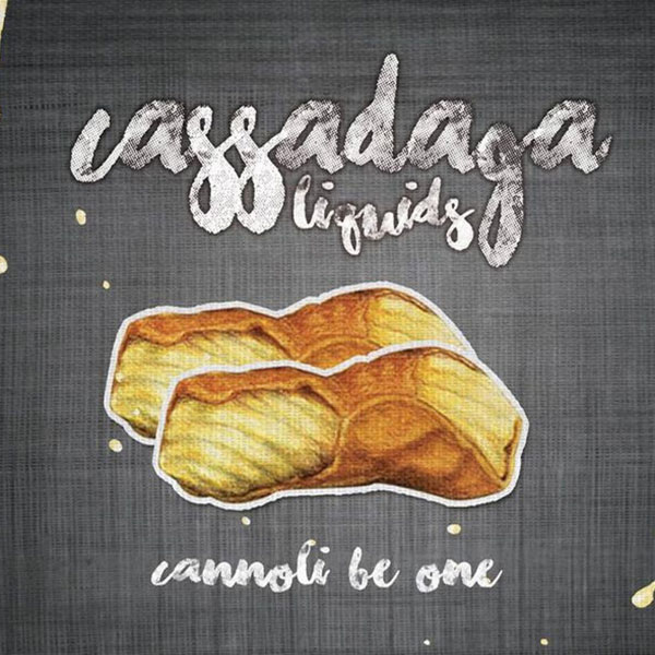 e-Liquido Cassadaga Cannoli Be One