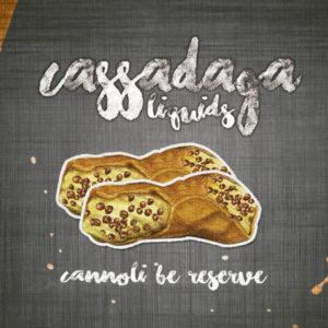 e-Liquido Cassadaga Cannoli Be Reserve