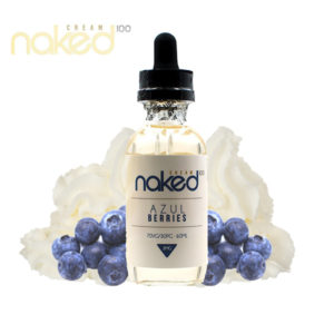 e-Liquido Naked 100 Cream Azul Berries