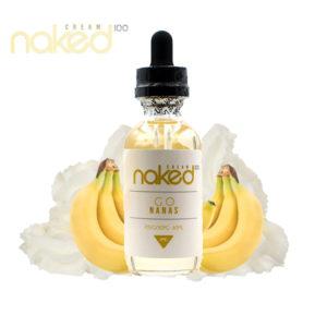 e-Liquido Naked 100 Cream Go Nanas
