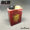 Underground Series Box Mod Resin Red MCM Mods Philippines
