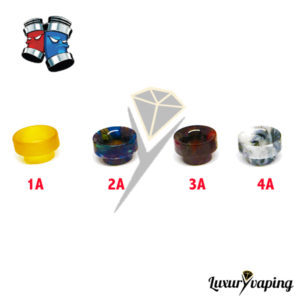 Drip Tips Wide Bore Acrylic Alumilite