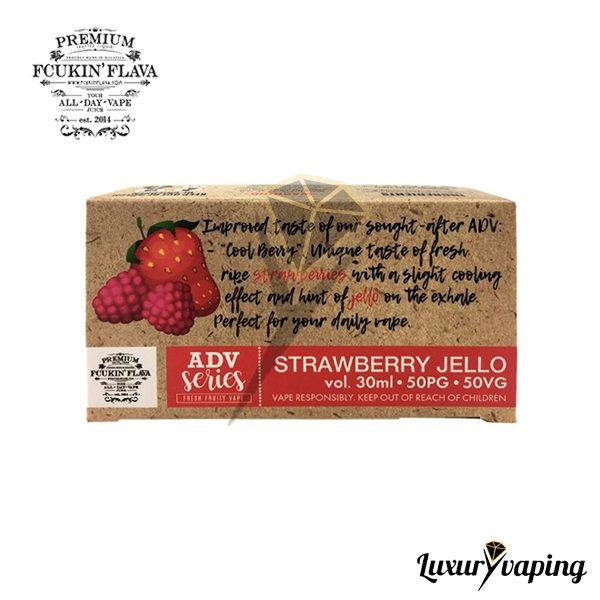 e-Liquido Fcukin Flava Strawberry Jello