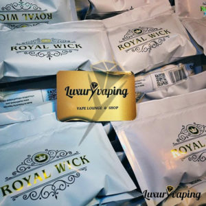 Royal Wick by Vapetalo Paronin Cotton Riistovilla
