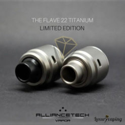 The Flave RDA 22mm Titanium Alliancetech Vapor