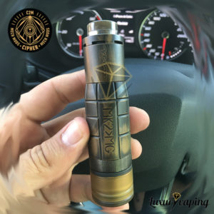 Tapón Inferior de Ultem Cipher Mech Mods Upgraded Mk2-Mg