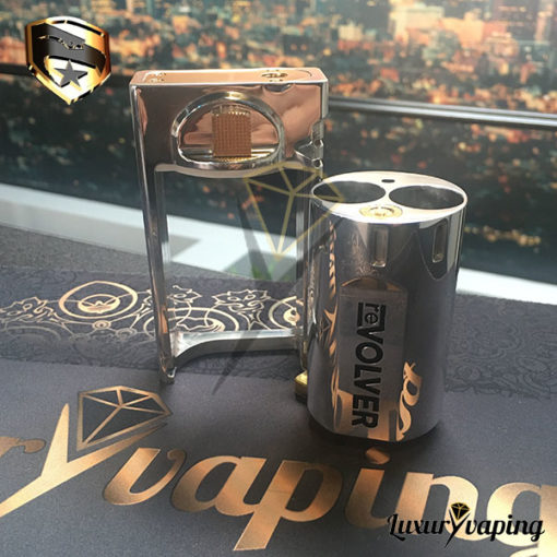 Revolver G2 Mechanical Box Mod By GI Mods Philippines