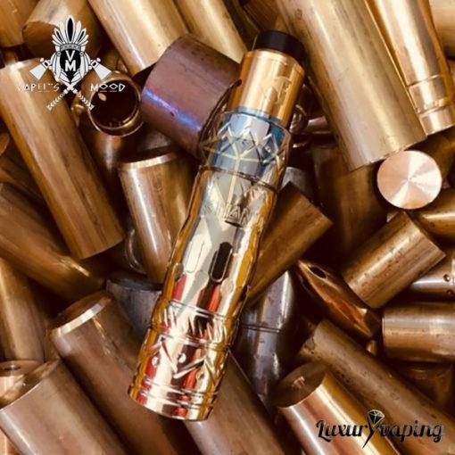 Chanupa Mech Mod Brass SS Vapers Mood