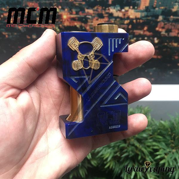 MCM Underground SSS Resin Blue Mech Mod Bf Philippines
