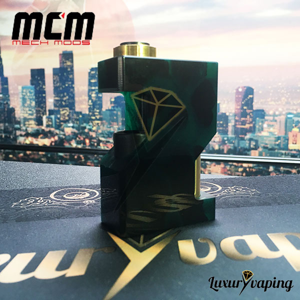 MCM Underground SSS Resin Green Mech Mod Bf Philippines