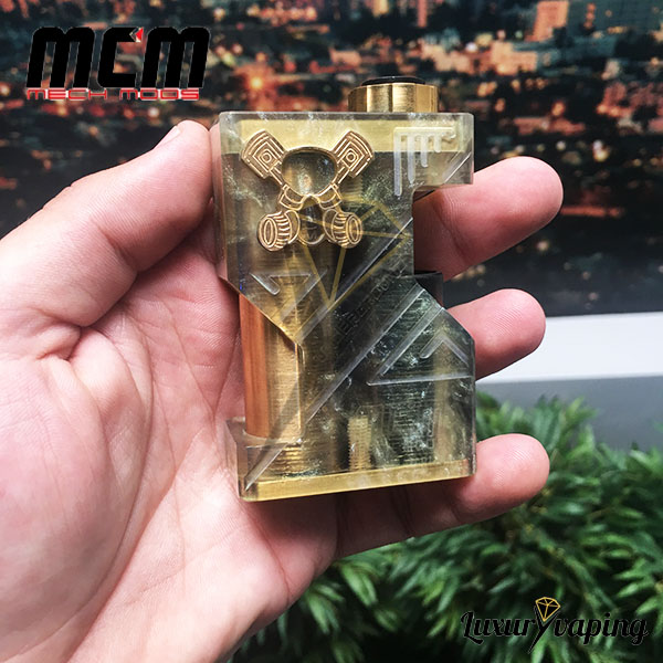 MCM Underground SSS Resin Gold Mech Mod Bf Philippines