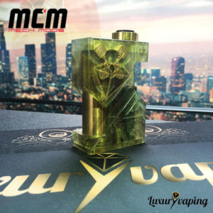 MCM Underground SSS Resin Gold Mech Mod Bf Philippines