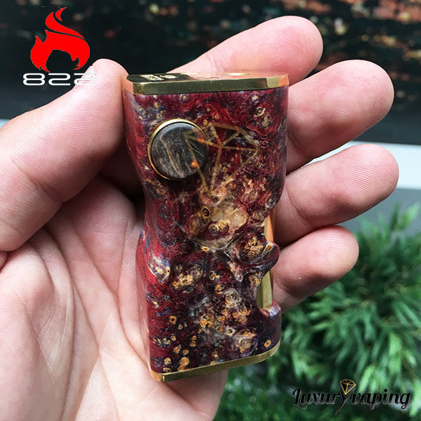 Ignis v2 Mech Box 822 Philippines Red Purple
