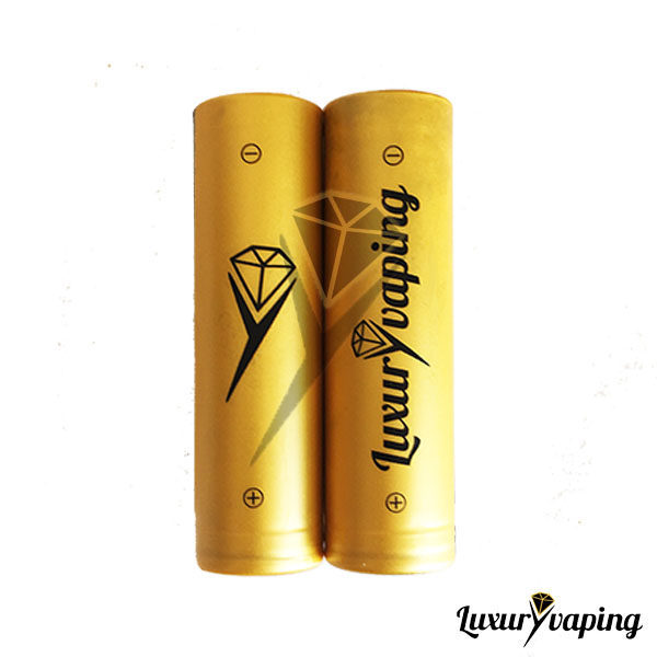 Battery Wraps Luxury Vaping Gold Edition
