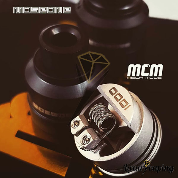 Mosé One 22mm RDA BF MCM Mods Philippines