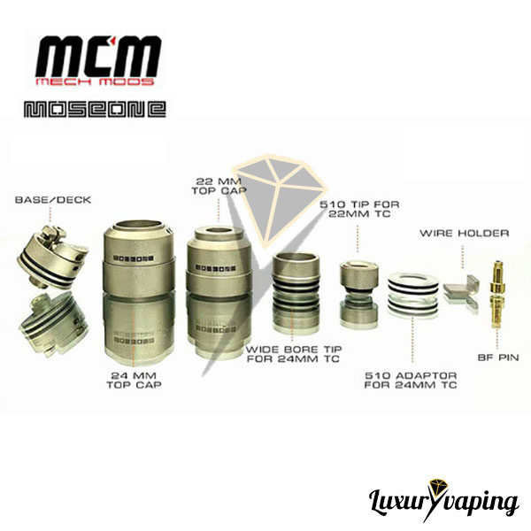 Mosé One 22mm RDA BF MCM Mods Philippines
