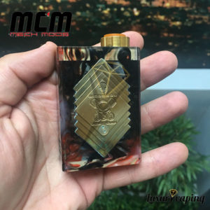 Underground V Series Box Mod Resin Black MCM Mods Philippines