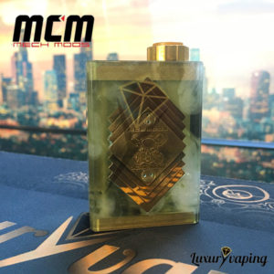 Underground V Series Box Mod Resin Clear MCM Mods Philippines