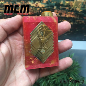 Underground V Series Box Mod Resin Red MCM Mods Philippines