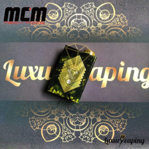 Underground V Series Box Mod Resin Black/Green MCM Mods Philippines