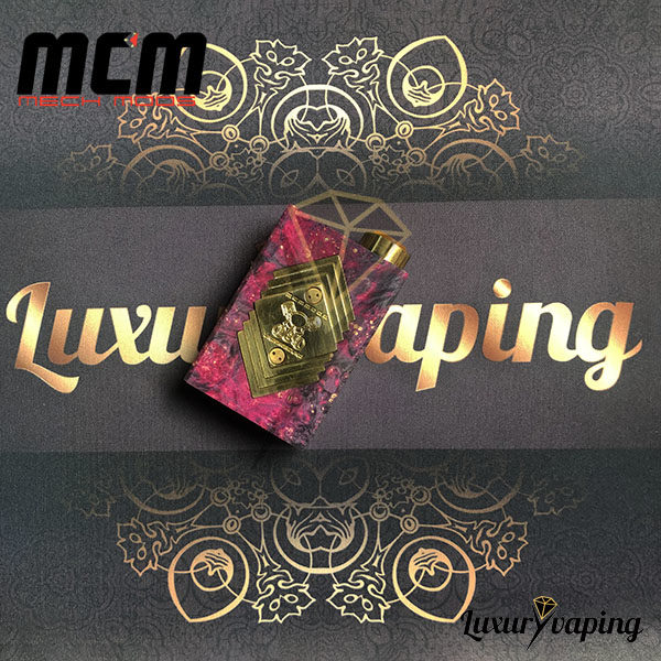 Underground V Series Box Mod Stab Pink MCM Mods Philippines
