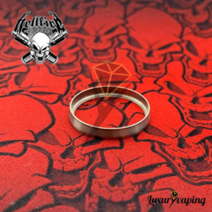 Beauty Ring Titanium 22/24 Hellfire Attysmith