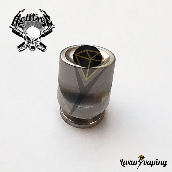 Mini Whistle Drip Tip Titanium Hellfire Attysmith