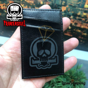 Frankenskull Leather Wallet