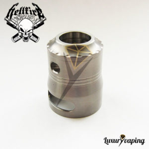 MavT 24mm Ti Cover/Cap Hellfire