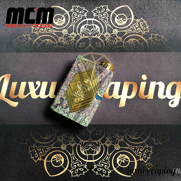 Underground V Series Box Mod Stab Purple Green MCM Mods Philippines