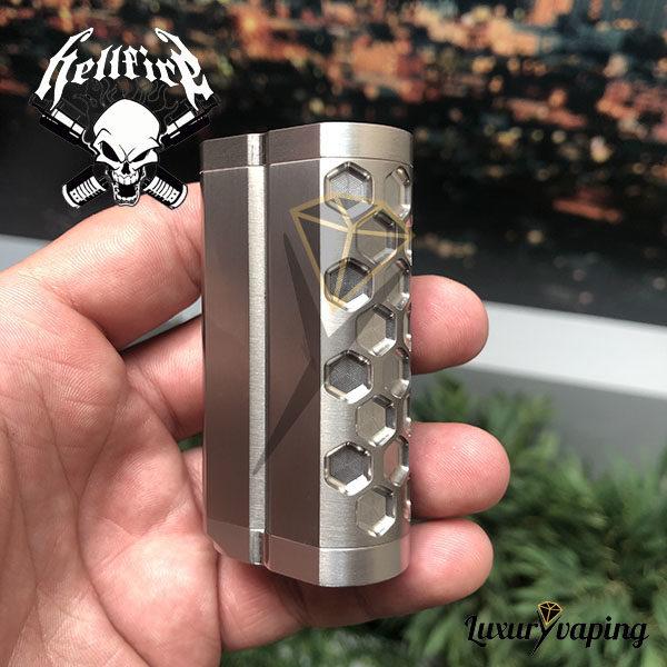 Titanium Titan Hex Hellfire Attysmith