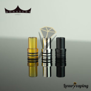 Monarchy Vapes MTL Short Drip Tip Set
