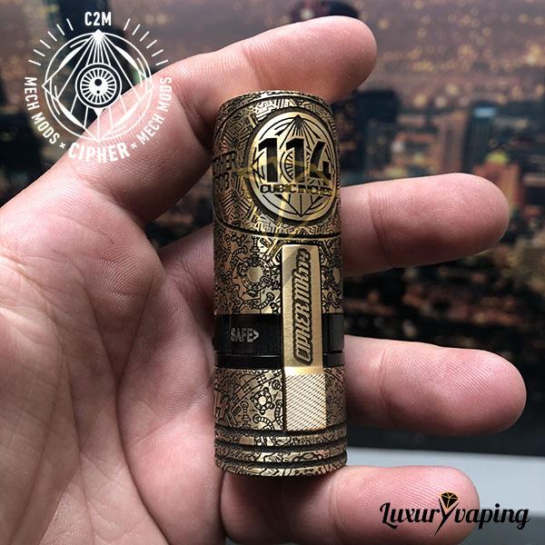 MK2 Special Brass 114 Integral Cipher Mods