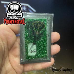 Frankenskull Door Metal Flakes Green